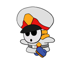 General Guy (Paper Mario Style)