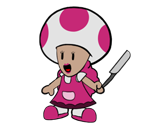 Ms. Shroomlock (Paper Mario-Style)