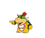 Bowser Jr. (Paper Mario-Style)