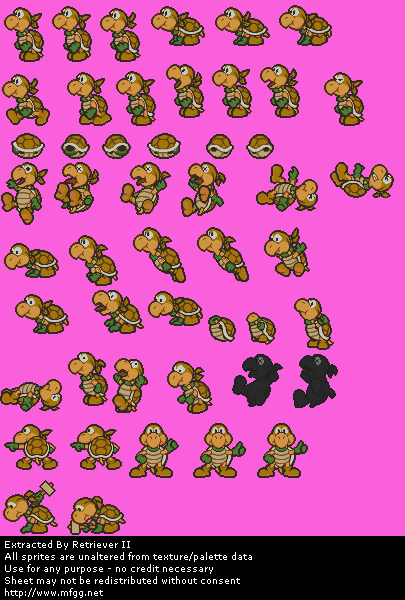 Ninjakoopa / Koopa Bros. (Yellow)