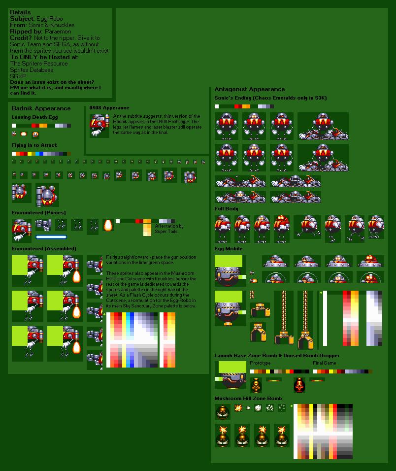 Genesis 32x Scd Sonic Amp Knuckles Egg Robo The