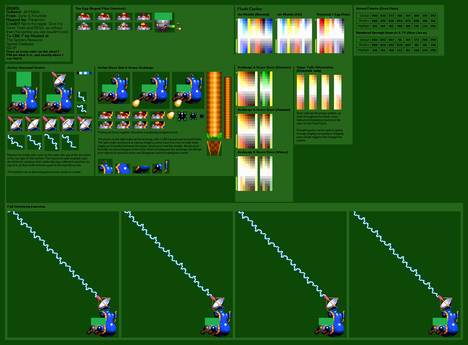 The Spriters Resource Full Sheet View Sonic Amp Knuckles Jet Mobile