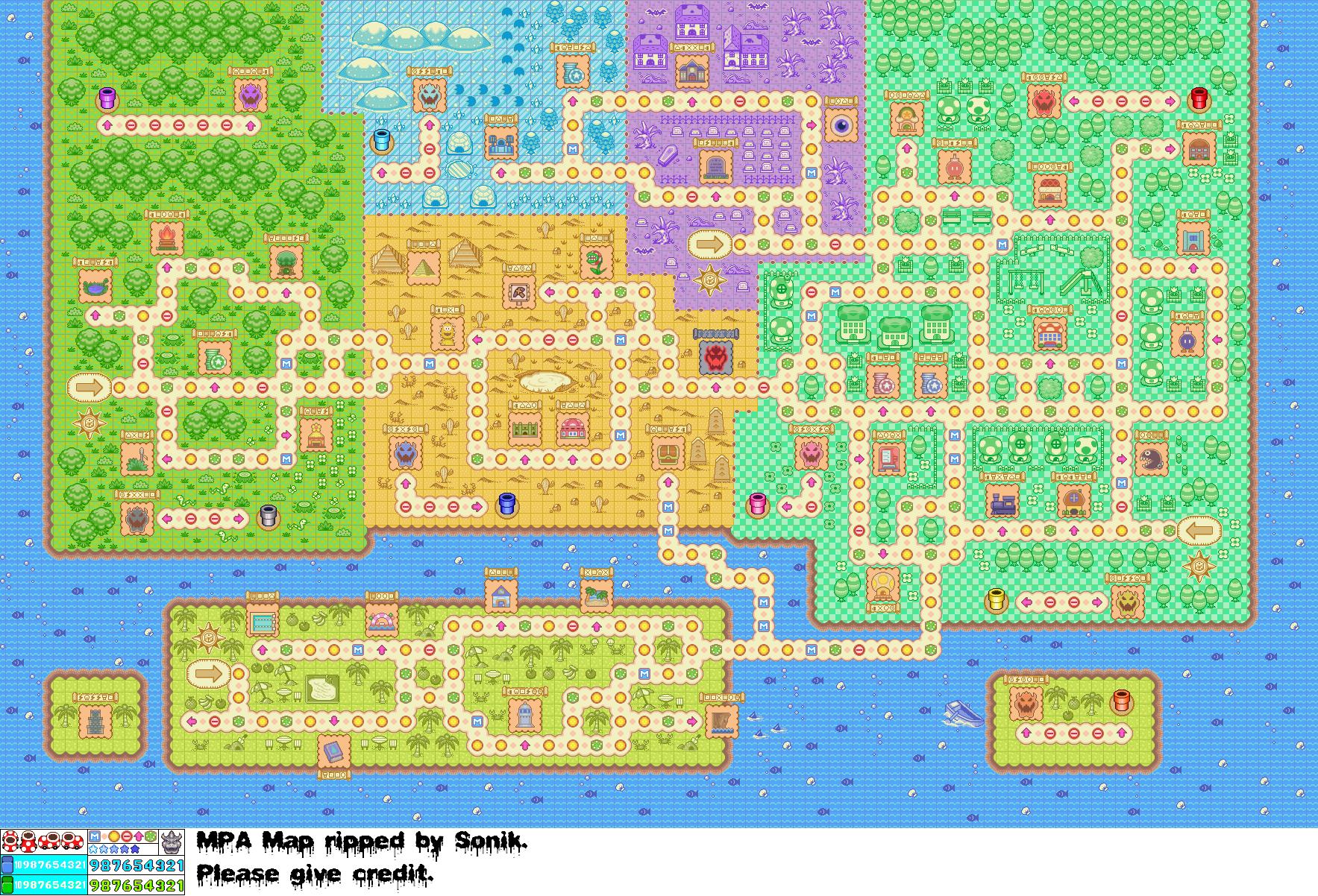 pokemon advanced map