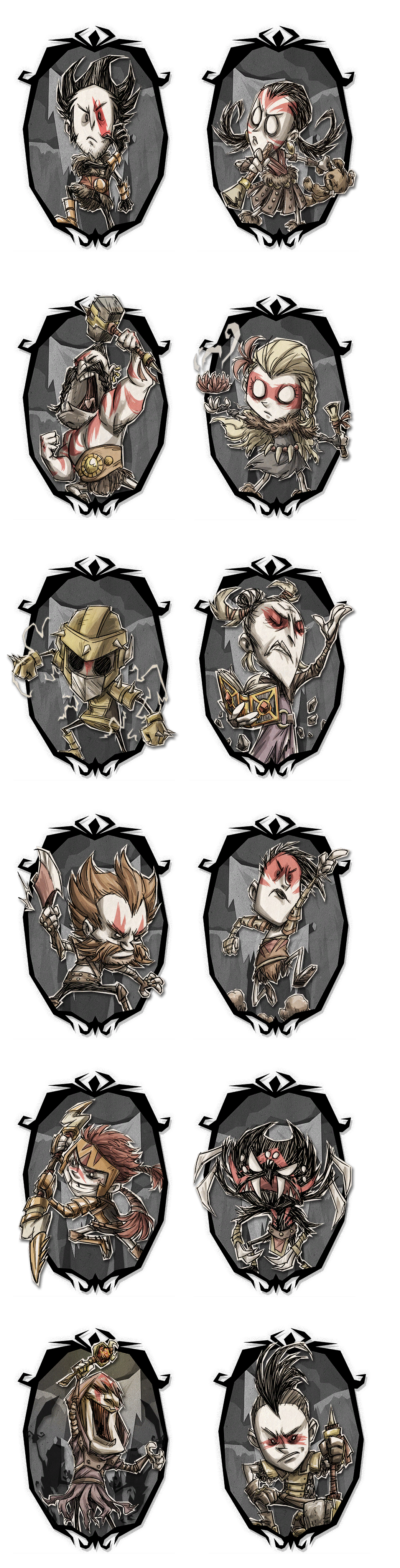 Don't Starve - Character Select (Gladiator)