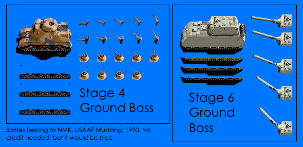 Ground Bosses