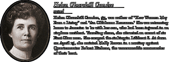 Bio: Helen Churchill Candee
