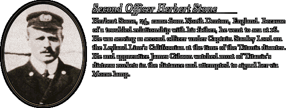 Bio: Second Officer Stone