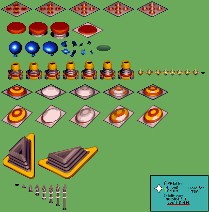 Spring Stadium Objects