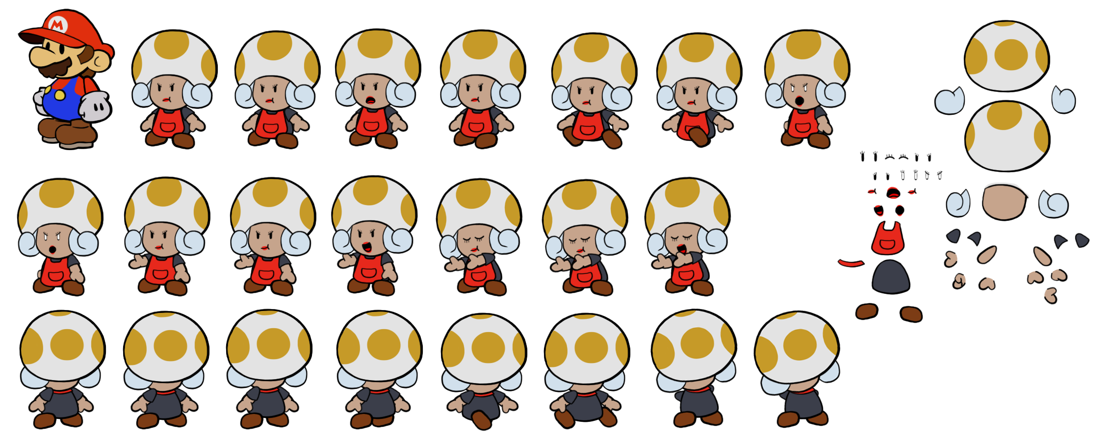 Zess T (Paper Mario Style)