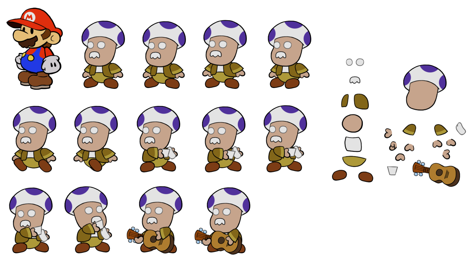 Bartender (Paper Mario Style)