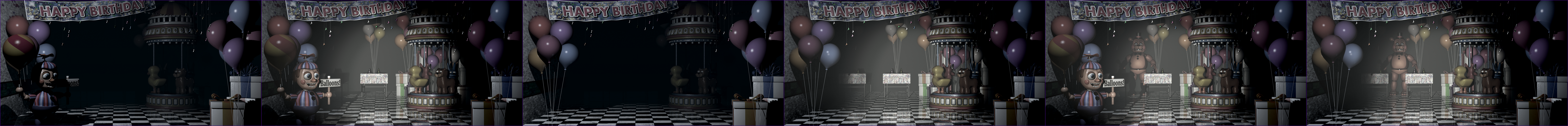 Five Nights at Freddy's 2 - Game Area