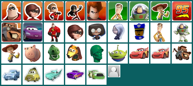 Mini Character Icons