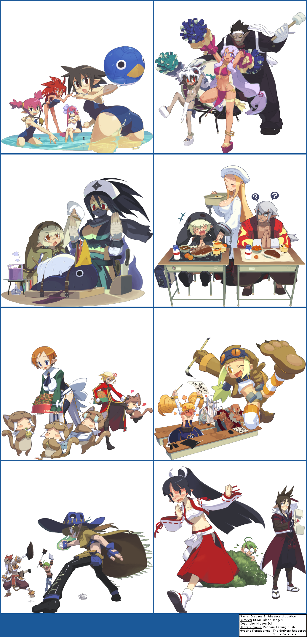 Disgaea 3: Absence of Justice - Stage Clear Images