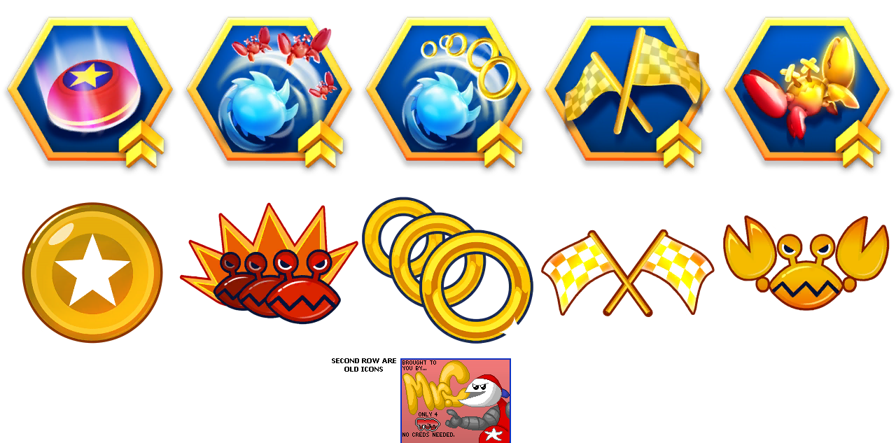 Sonic Dash - Booster Icons