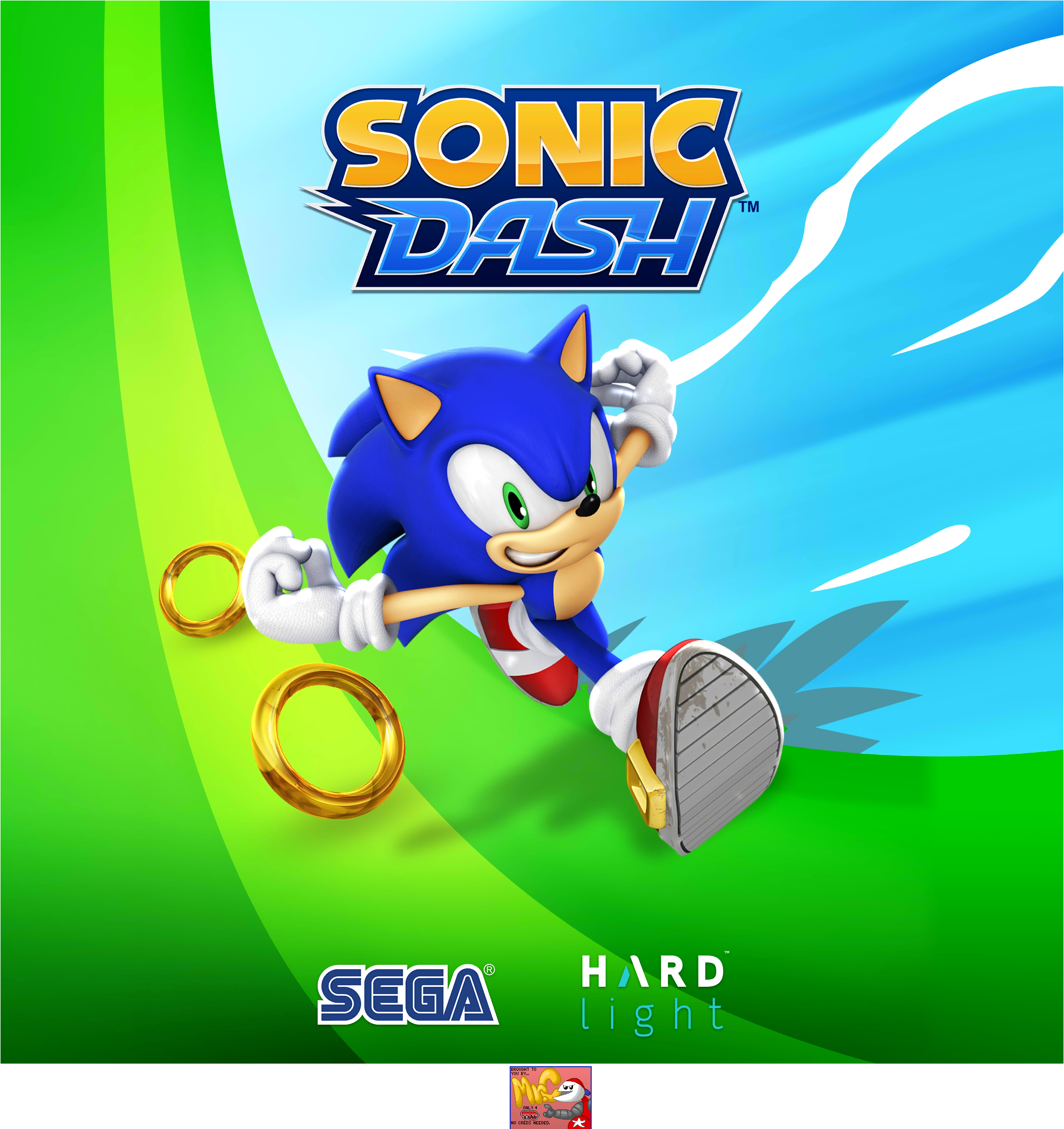 Sonic Dash - Splash Screen