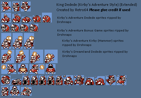 King Dedede (NES Style) (Expanded)