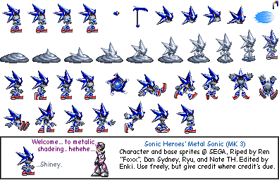 Neo Metal Sonic (Advance Style)