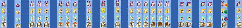 Tattletails and Mama (Super Mario Maker Style)