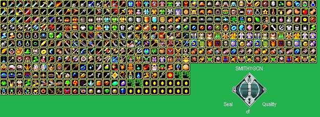 Golden Sun - Item Icons
