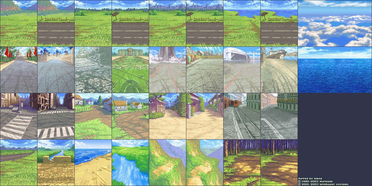 Inbattle Backgrounds (Clear)