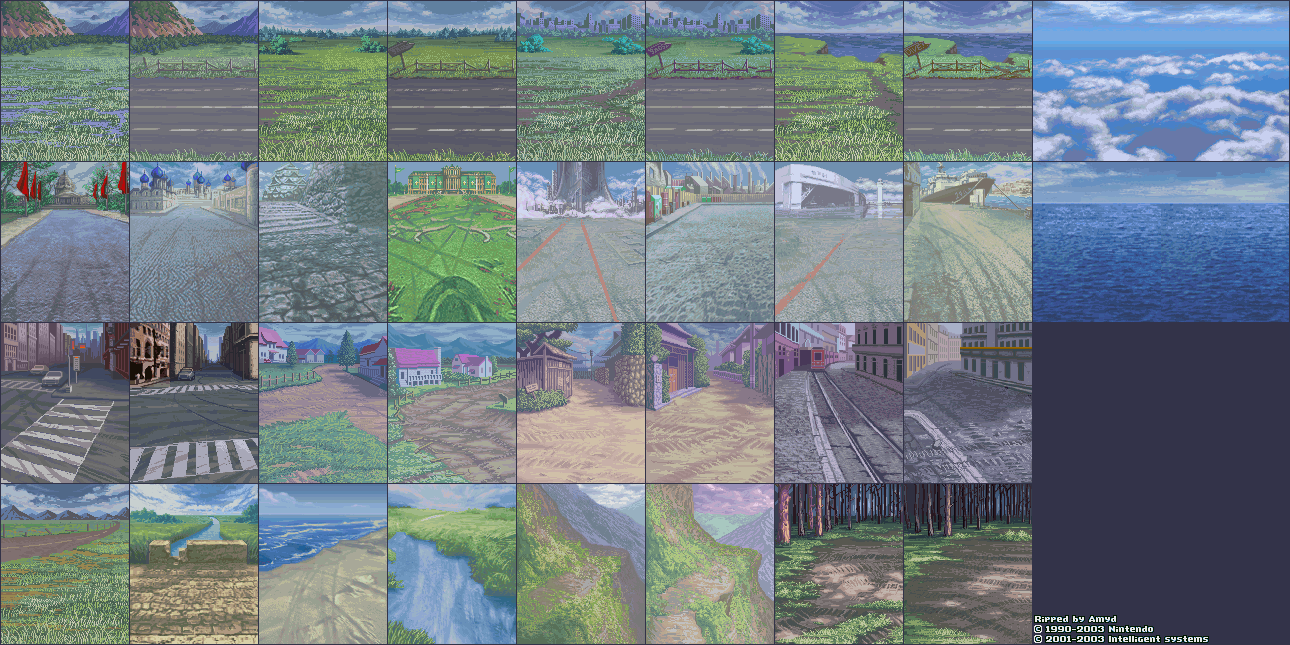 Inbattle Backgrounds (Rain)