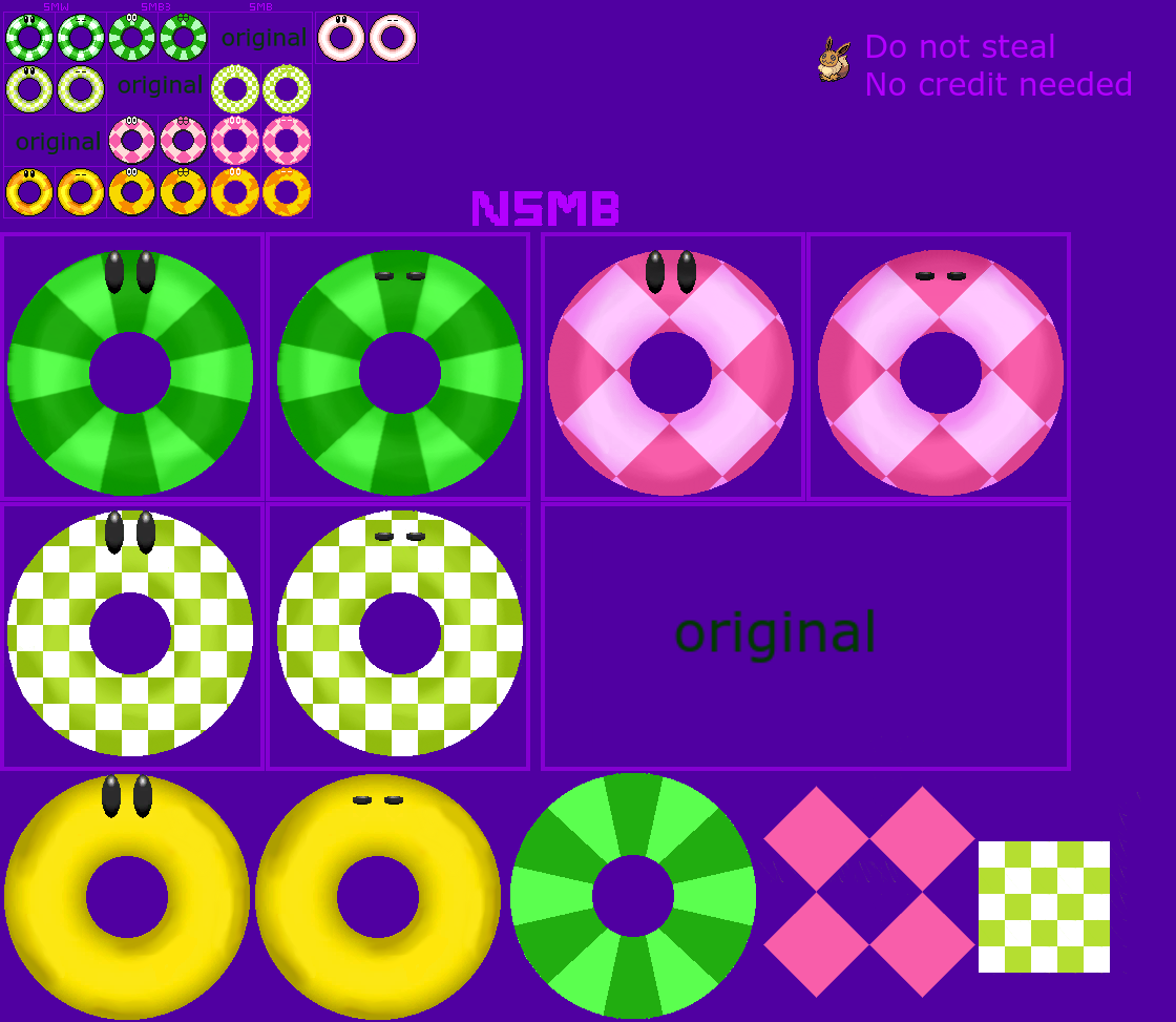 Donut Bumpers (Super Mario Maker-Style)