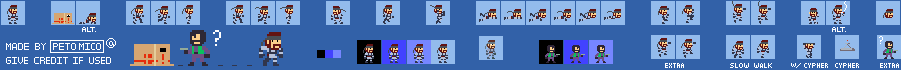 Solid Snake (Super Mario Maker-Style)
