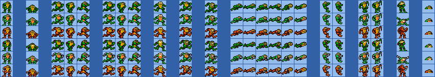 Battletoads (Super Mario Maker Style)