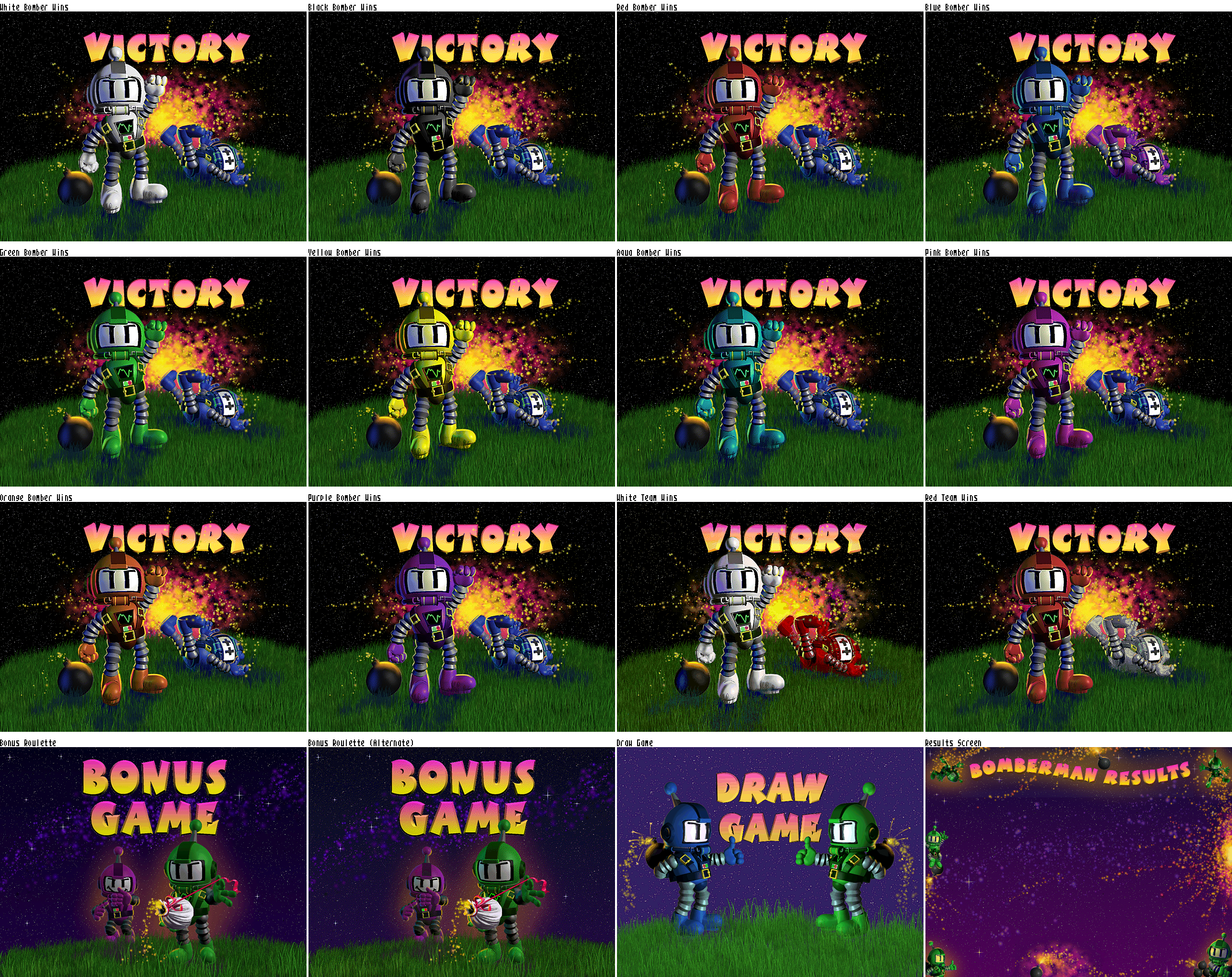 Victory/Results Screen