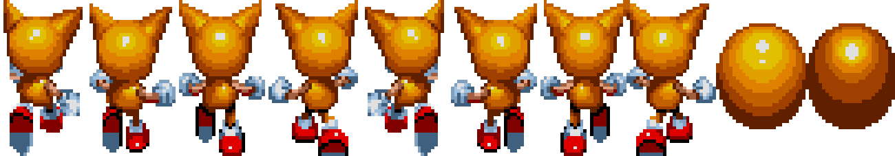 Pixelated Tails