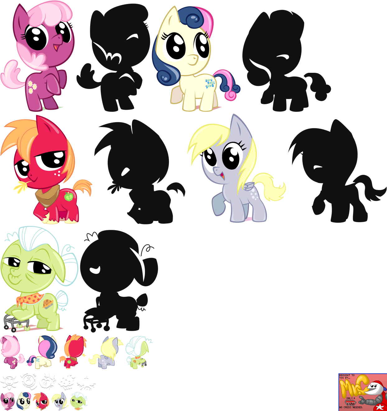 Residents of Ponyville