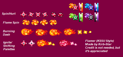 Flamer (Kirby Super Star Ultra-Style)