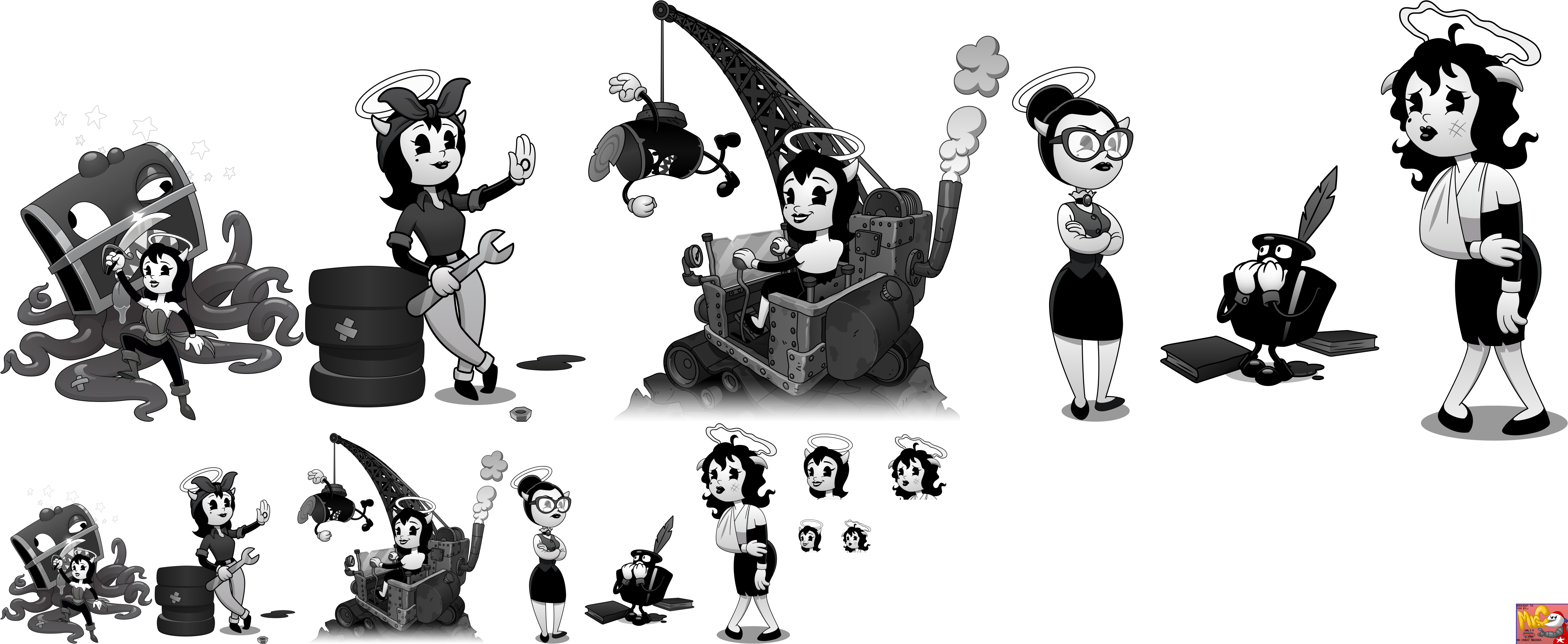 End Screens (Alice Angel)