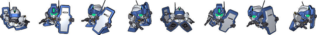 SD Gundam G Generation Genesis - Units - Bonds Of The Battlefield
