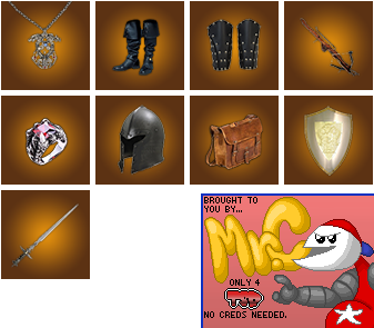 Unused Item Icons