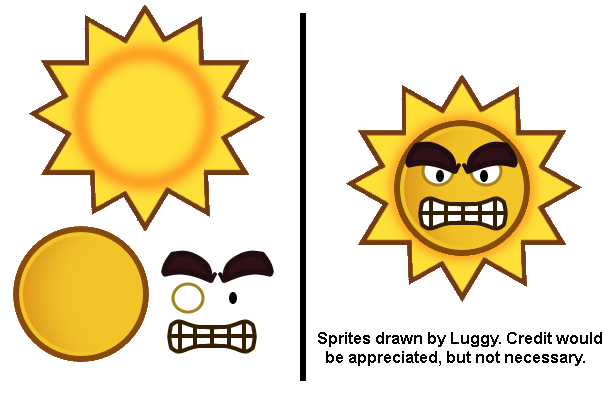 Angry Sun (The Thousand Year Door-Style)