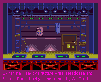 Practice Area: Headcase and Beau's Room