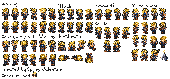 Cloud Strife (FFRK, Expanded)