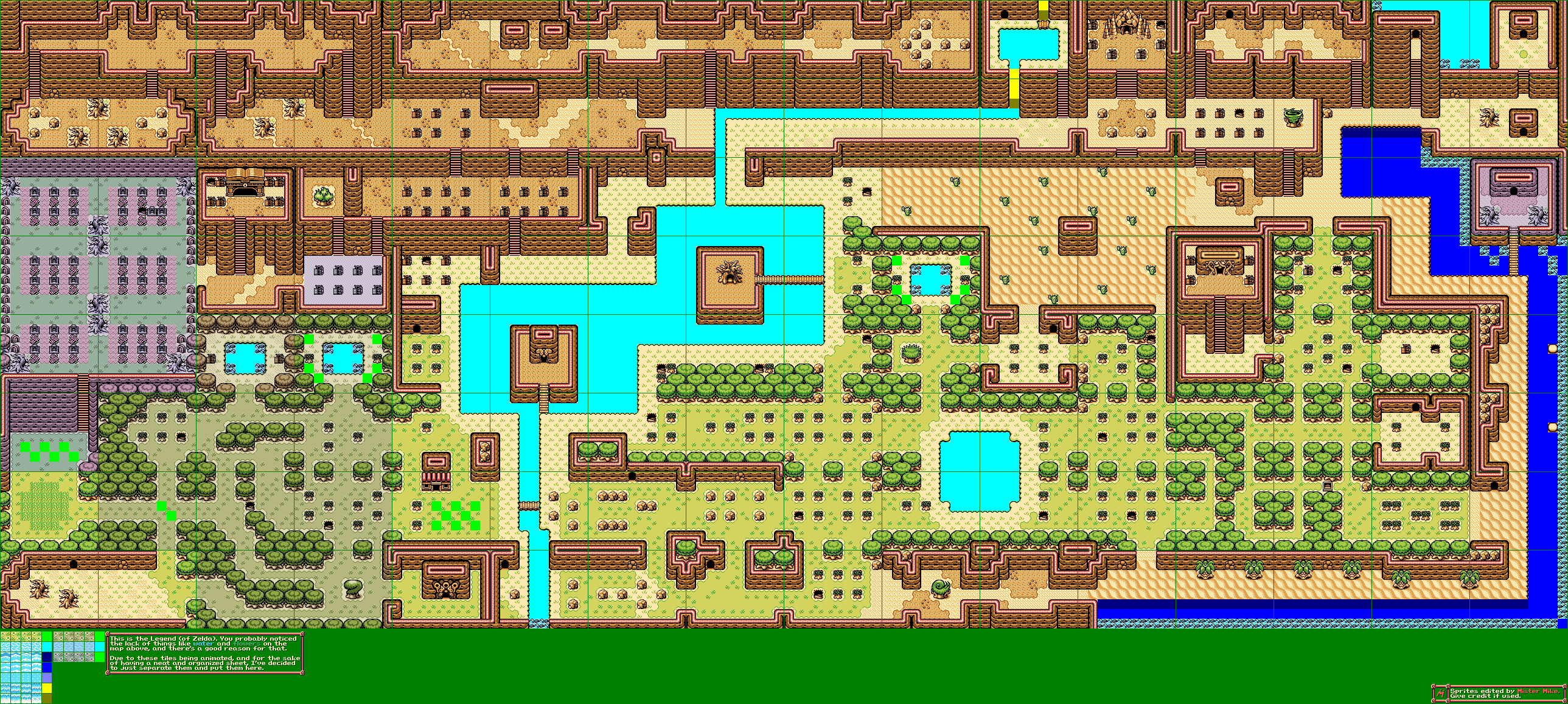 The Legend of Zelda Overworld (Oracle of Seasons-Style)