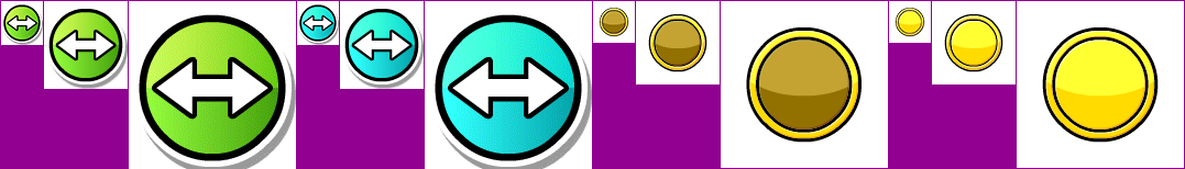 Geometry Dash - Slider Buttons