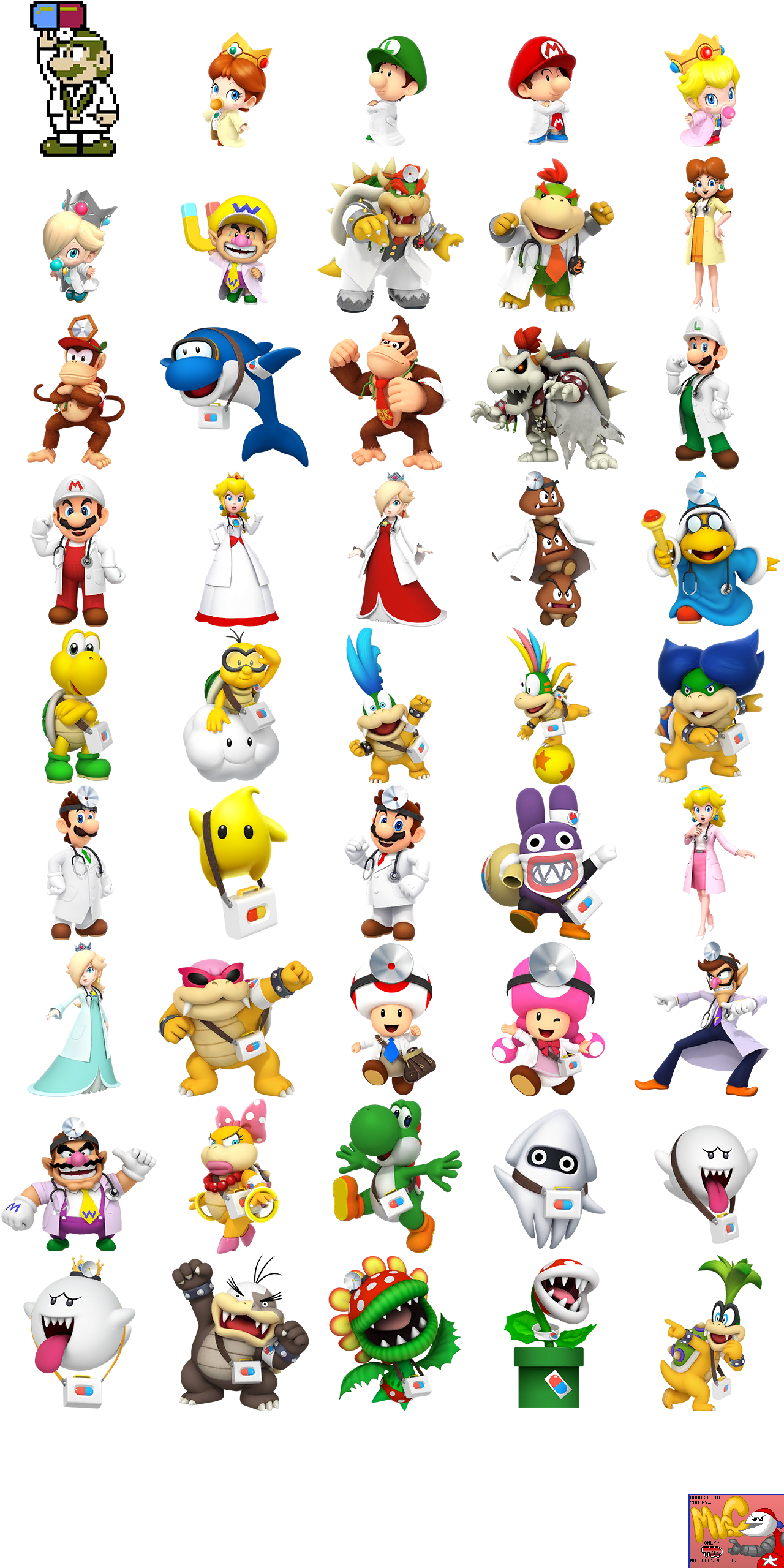 Doctor Full-Body Portraits
