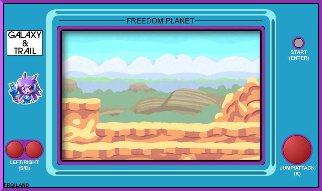 Freedom Planet LCD Game - Device