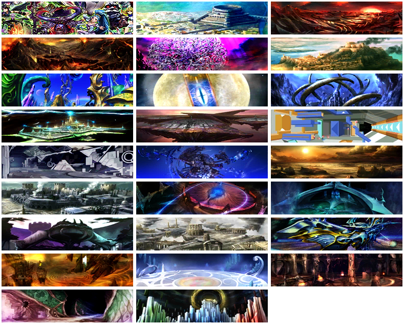 Kid Icarus: Uprising - Chapter Thumbnails + Boss Rush