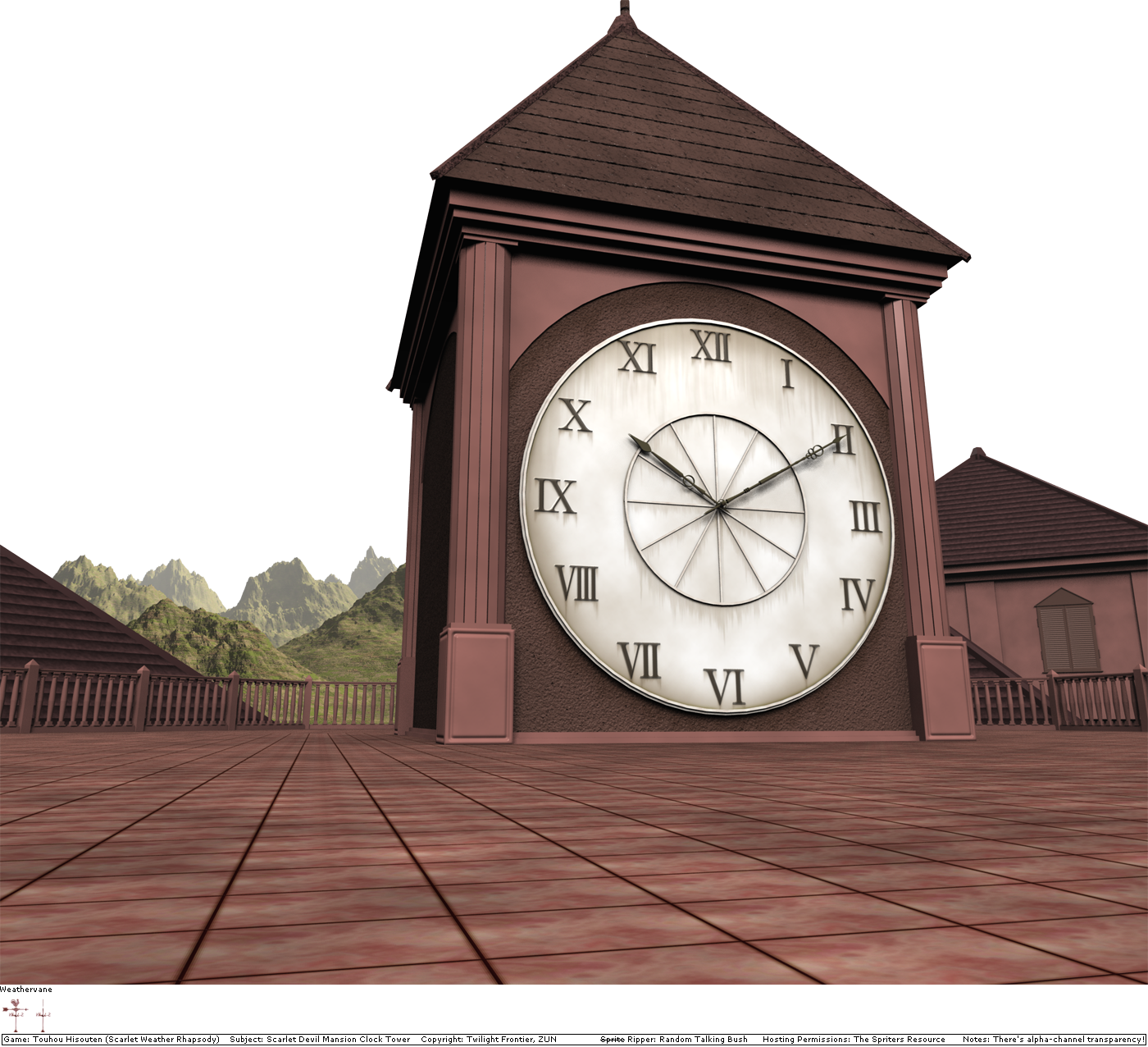 Scarlet Devil Mansion Clock Tower