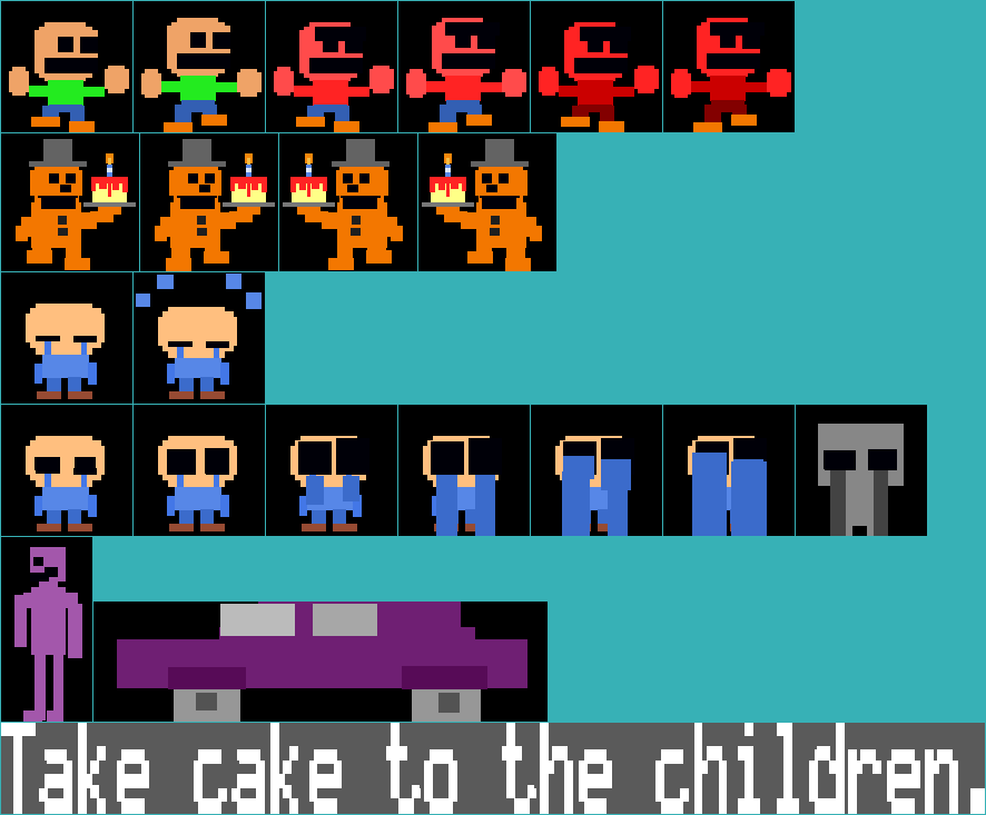 Take Cake to the Children