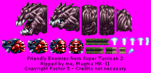 Super Turrican 2 - Friendly Enemies