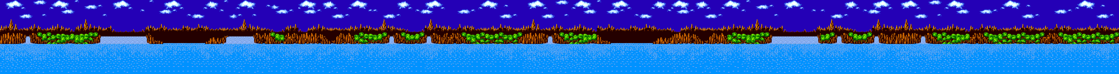 Green Hill Zone Background