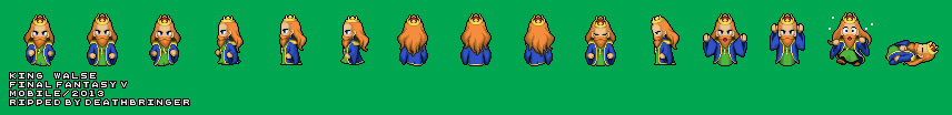Final Fantasy 5 - King Walse