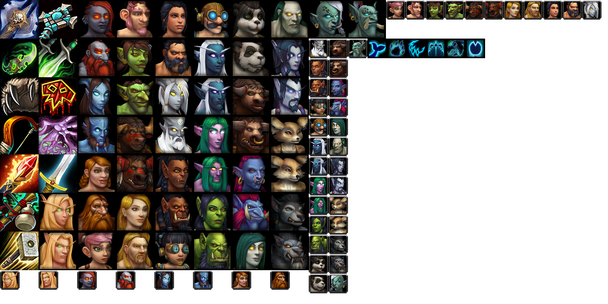 Character Create Icons (9.0.2)