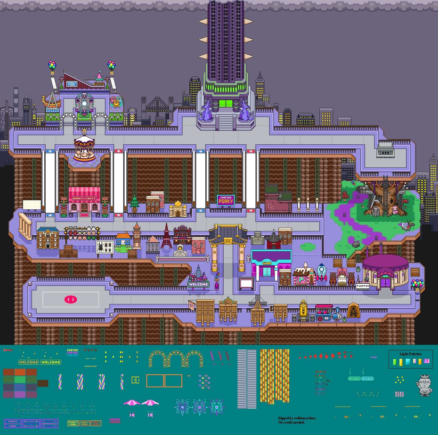 New Pork City (Exterior)